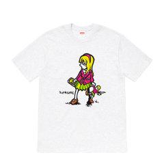 Supreme 19SS Suzie Switchblade TEE 苏西小女孩 短袖 T恤图片