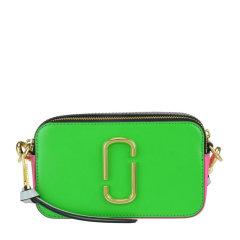 Marc Jacobs/马克雅各布斯 欧阳娜娜同款 女士皮革时尚宽肩带皮质单肩斜挎包相机包图片