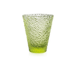 意大利进口IVV彩色水晶玻璃健康果汁饮料茶杯子无铅耐热家用餐具 意大利IVV手工彩色玻璃水杯无铅水晶耐热杯图片