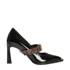 FENDI/芬迪 20春夏 logo 尖头鞋 细跟 高跟鞋 3268 跟高:8 cm.图片