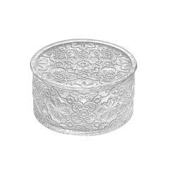 意大利进口IVV无铅镀金水晶玻璃零食盒奢华礼物收纳装饰品盒图片
