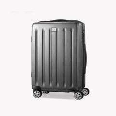 Pierre Cardin/皮尔·卡丹 新款进口聚碳酸酯大logo设计拉链中性款式女士,男士通用行李箱拉杆箱图片