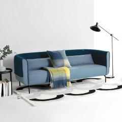 GELEISTORY2019上新家具系列布艺懒人沙发现代简约小户型客厅三人位欧式 年货节 店铺特惠图片