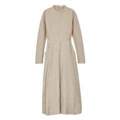 EXCEPTION/例外 原创设计秋冬羊毛拼接A型款连衣裙-女士连衣裙图片