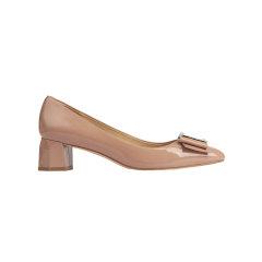 EILLEN 秋季新款 细跟高跟鞋尖头女鞋浅口单鞋休闲坡跟鞋图片