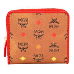 MCM/MCM女士新款皮质/人造革短款礼盒装钱包钱夹多色图片