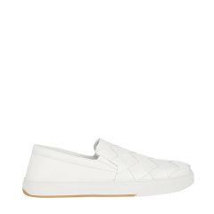Bottega Veneta/葆蝶家 20年春夏 百搭 男性 白色 板鞋 608751VT031 9000图片