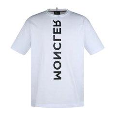 Moncler/蒙克莱 男士短袖T恤全棉胸前字母袖子雄鸡印花图片