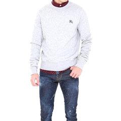 BURBERRY/博柏利【包邮包税】20春夏 男装 服装 纯色经典骑马logo棉质长袖套头衫 男卫衣图片