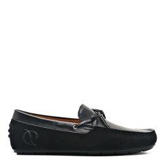 【2020新款】S.T.DUPONT/都彭  牛皮超轻底个性时尚耐磨反绒男士乐福鞋G27119324图片