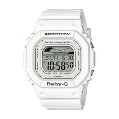 CASIO/卡西欧女表BABY-G基础款数字显示多功能运动石英手表时尚腕表 BLX-图片