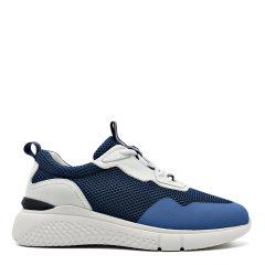 【2020新款】S.T.DUPONT/都彭 牛皮网布透气时尚百搭减震休闲运动鞋G27119607图片