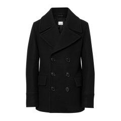 【包邮包税】BURBERRY/博柏利 19秋冬 男士羊毛翻领短款双排纽扣毛呢大衣外套图片