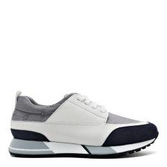 【2020新款】S.T.DUPONT/都彭 牛皮拼接透气舒适百搭减震休闲运动鞋G27119804图片
