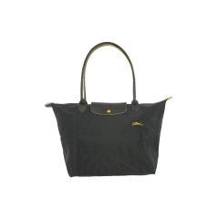 Longchamp/珑骧 女士中年,老年,孕妇,情侣LE PLIAGE系列尼龙织物长柄可折叠手提单肩包1899刺绣图片