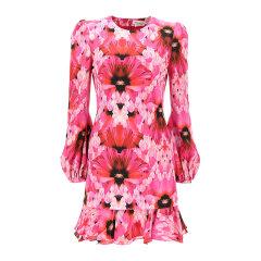 Alexander McQueen/亚历山大麦昆 20年春夏 服装 百搭 女性 粉色 女士连衣裙 598908_QCABE_5033图片