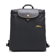 Longchamp/珑骧70周年纪念款 女士LE PLIAGE系列尼龙织物可折叠双肩包1699刺绣图片