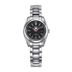 SEIKO/精工手表5号系列自动机械表男表/女表钢带双日历商务休闲情侣手表图片