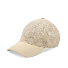 【包税】GUCCI/古驰  女士新款GG蕾丝绣花帽子 两色可选 579155 3HH87 1060图片