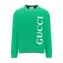 GUCCI/古驰 20年春夏 Gucci印花卫衣 男性 蓝色 男卫衣 599345XJB1C 4118图片