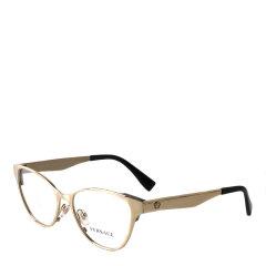【低价清仓】VERSACE/范思哲 金属全框美杜莎标志装饰女款光学镜架眼镜框 0VE1245图片