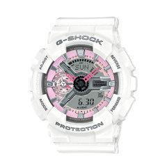 CASIO/卡西欧女表G-SHOCK系列樱花粉网红运动款防水炫彩女士手表时尚腕表 GMA-S110MP-4A1图片