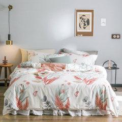 环保活性印染 贴身 透气性好 40支纱全棉四件套 被套床单4件套 1.5米床 ROYALROSE LITERIE图片