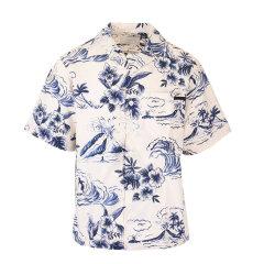 PRADA/普拉达 20年春夏 服装 男性 男士短袖衬衫 UCS339S2011VY2F0124图片