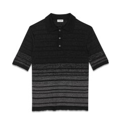 SAINT LAURENT PARIS/SAINT LAURENT PARIS 20年春夏 服装 ysl 男性 男士短POLO 604881YALS2_1081图片