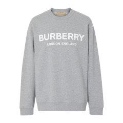 【包邮包税】Burberry/博柏利 20春夏 男装 服饰 棉质LOGO标识时尚运动衫 男卫衣图片