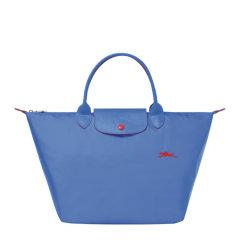 Longchamp/珑骧 【19秋冬新款】LE PLIAGE系列 女士尼龙logo中号短柄手提包挎包拉链包饺子包可折叠女包 多色可选图片