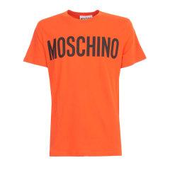 MOSCHINO/莫斯奇诺 20年春夏 男性 字母 简约 白色 男士短袖T恤 A0705.5240_1002图片