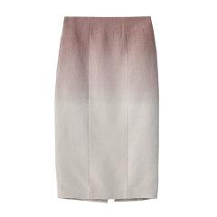 EXCEPTION/例外 原创设计19年秋冬新款羊毛吊染收腰花包半身裙-女士半身裙图片