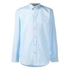BURBERRY/博柏利 20年春夏 burberry服装 男性 蓝色 男士长袖衬衫 8024524图片