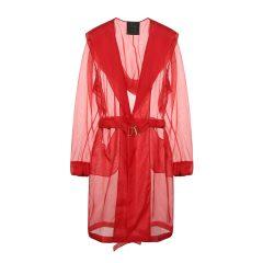 LA PERLA/萝贝拉  红色桑蚕丝女士睡袍 睡衣/家居服图片