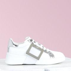 2020春夏新品2020春夏新品 女士休闲运动鞋 牛皮鞋面 Viv Skate 金属扣运动鞋图片
