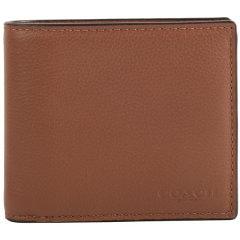 COACH/蔻驰 牛皮 男士短款钱包钱夹 74991图片