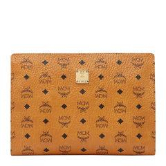 MCM 女士Visetos涂层时尚拉链袋钱包手拿包女包 MXZ8SVI70多色可选图片