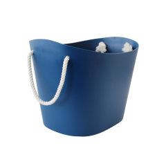 日本进口多功能收纳篮 脏衣篮  利快Sceltevie杂物储物筐户外出行便携提篮图片