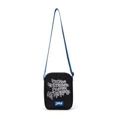 DRACONITE 达肯尼特 潮牌 新款 街头 嘻哈 单肩包 休闲 运动 女 涂鸦 字母 个性 斜挎包 12294图片