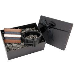 【新年礼盒】COACH/蔻驰19年秋冬新款男士皮质青年短款钱包休闲商务腰带套组礼盒送男友送父亲图片