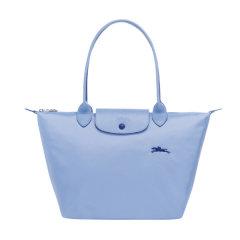 Longchamp/珑骧 女士中年,孕妇LE PLIAGE系列织物尼龙小号长柄可折叠手提单肩包 2605刺绣图片