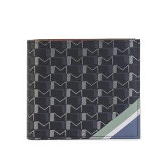 【包邮包税】Moynat/莫奈 2020早春新款 男女通用老花帆布拼色Voltige紧凑型对折钱包 (3色可选)图片