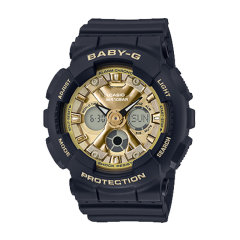 CASIO/卡西欧手表BABY-G系列运动款防水炫彩女表时尚腕表 BA-130-1A图片