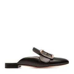 【包邮包税】BALLY/巴利 【20春夏新款】女士经典百搭舒适凉拖平跟鞋低跟穆勒拖鞋单鞋女鞋 多色可选图片