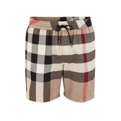 BURBERRY/博柏利 2020早春新款男性经典款松紧男士短裤格纹 8017294-A7028图片