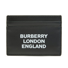 BURBERRY/博柏利 19秋冬 男女通用青年黑色小牛皮卡片夹8014697  DX图片