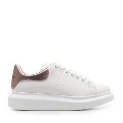 Alexander McQueen/亚历山大麦昆 20年秋冬 板鞋 女性 小白鞋 系带 女士休闲运动鞋 553770WHFBU图片