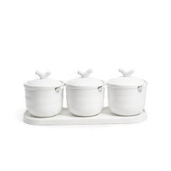 玛戈隆特 行云系列调味罐调料罐 盐罐糖罐油壶厨房家用 礼盒包装图片