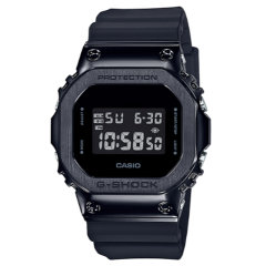 CASIO/卡西欧  CASIO卡西欧G-SHOCK金属复古防水运动方块手表 GM-5600-1/GM-5600B-1 -3图片